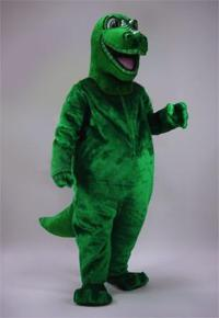 Dinosaur costume for rent from cartoon to realistic