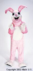 easter bunny mascot rental costume