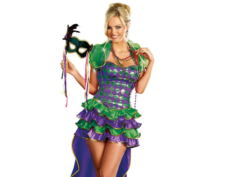 Mardi Gras outifts for men and women