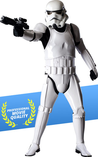 Stormtrooper costume rental authentic movie quality Star Wars costume for rent