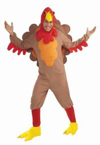 Thanksgiving costume rentals showing a turkey mascot