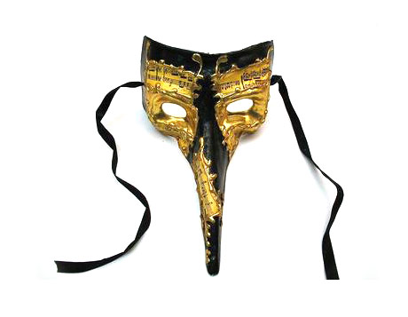 Long nosed Venetian masquerade masks